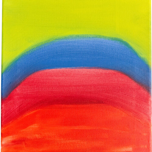 Felix Spiske – Regenbogen (Acrylfarbe auf Leinwand)