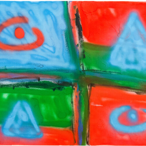Felix Spiske – Neuland (Acrylfarbe auf Leinenkarton)
