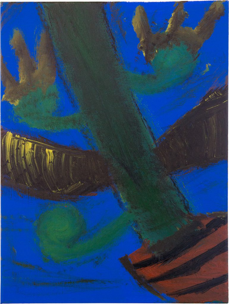 Felix Spiske – Kaktus (Acrylfarbe auf Leinwand)